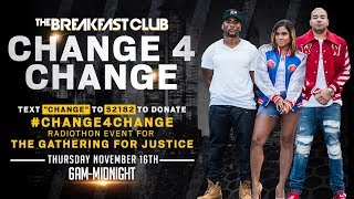 The Breakfast Club Announces 24-Hour Broadcast Benefiting The Gathering for Justice Movement