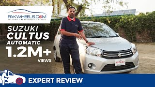 Suzuki Cultus Automatic Detailed Review: Price, Specs & Features | PakWheels