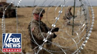 DOD: US troops at southern border have peaked at 5,900