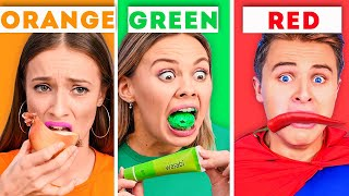 eating-only-one-color-of-food-for-24-hours-funny-food-challenges