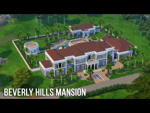 The Sims 4 Speed Build - Beverly Hills Mansion