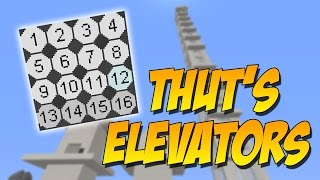 THUT'S ELEVATORS: El Mod De Los Mejores Elevadores - Minecraft Mod 1.10.2/1.10./1.8.9/1.8