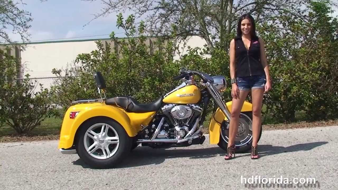 Used 2007 harley davidson road king trike for sale cocoa beach fl youtube