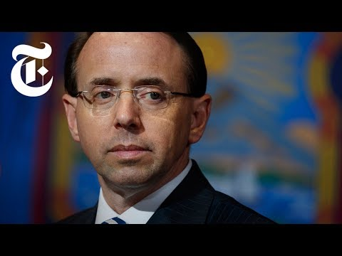 How Rosenstein Protects Mueller From Trump  NYT News
