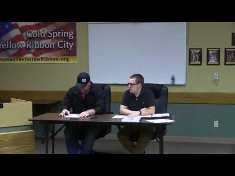 Cold Spring Council 10 11