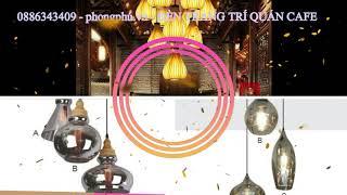 🔰 Phong Phú: Đèn led trang trí Quán CAFE