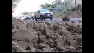 Earthquake magnitude 6.2 in Nicaragua Землетрясение магнитудой 6,2 в Никарагуа