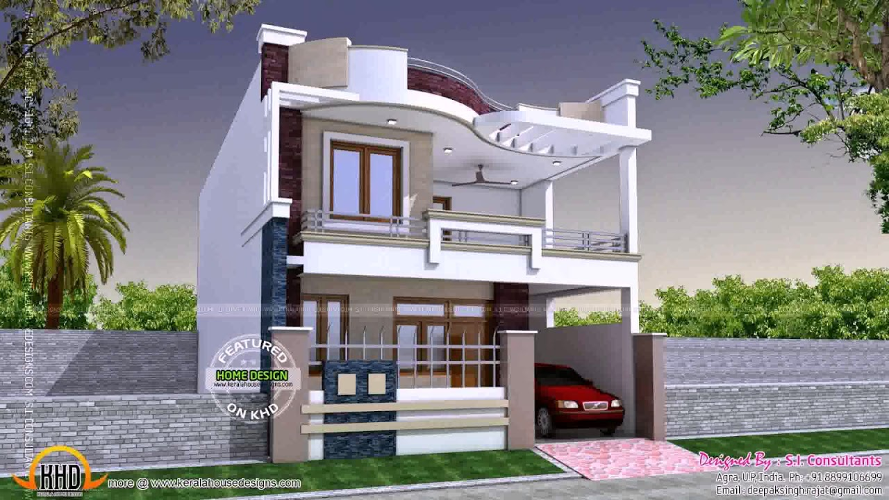Modern House Design With Second Floor Gif Maker Daddygif Com