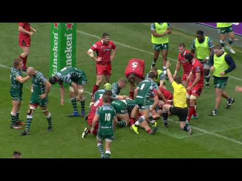 London Irish v Edinburgh Rugby - Highlights