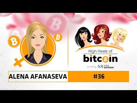 Alena Afanaseva (CEO Beincrypto.com) - High Heels of Bitcoin #36