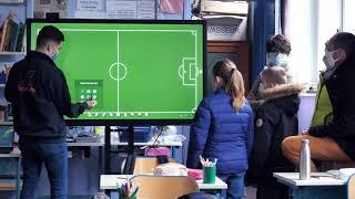 Service d'installation et de livraison d'écran interactif (par Speechi)