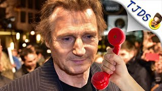 Liam Neeson Really Hates Getting Old