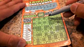 California Lottery Scratchers - $3 Tripling Crossword