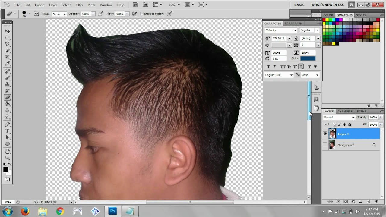 Download cara mudah membuat siluet dengan photoshop cs5