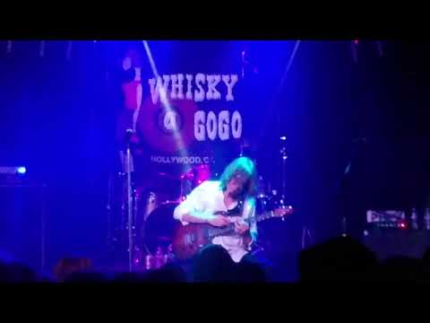 Robby Lochner of Jack Russell's Great White Guitar Solo Live at the Whiskey Hollywood Ca. 12.29.17