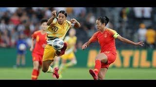 AFC Women's Olympic Qualifying Tournament: Australia 1-1 China PR : Highlights