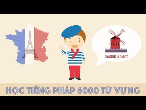 Học tiếng Pháp 6000 từ vựng thông dụng qua hình ảnh, Learn French 6000 vocabulary by image