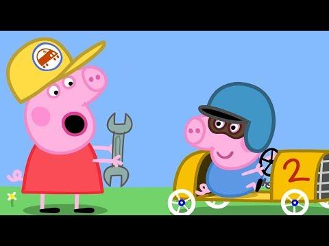 Peppa Wutz 🏎 Schorschs Rennauto | Peppa Pig Deutsch Neue Folgen | Cartoons Für Kinder