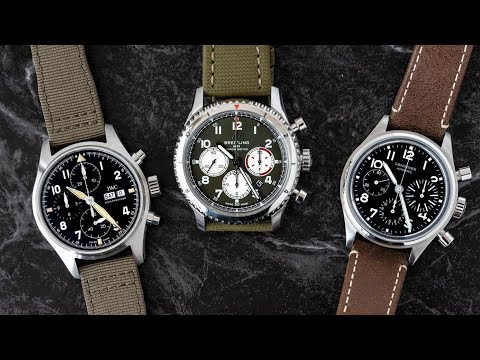 AWESOME Watches Under $10,000: Breitling, Longines, IWC Pilots from London Jewelers