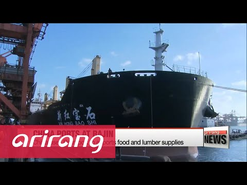 China ups use of N. Korean harbors to ship products south