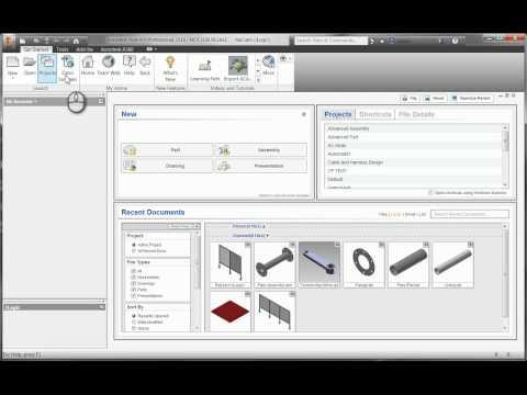 Understanding Inventor Project Files