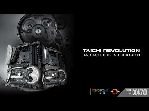 ASRock AMD 400 Series Motherboards : TAICHI REVOLUTION