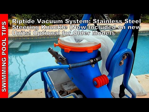 Riptide Vacuum System Stainless Steel Steering Knuckle: Take You're Riptide To The Next Level!