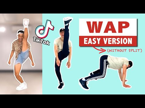 WAP TUTORIAL (EASY) | CARDI B | TIK TOK DANCE