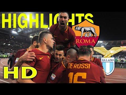 Roma 2 - 1 Lazio| Serie A Giornata 13 [18/11/2017] HD Highlights