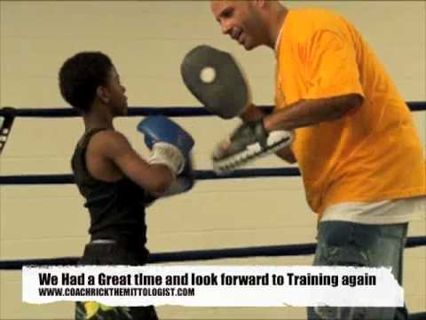 Coach Rick Kids Boxing Padwork 4 Fitness Unique Mayweather Style Mittwork Training