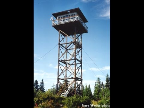 Fire Lookout Tower - Austin Ridge, Idaho