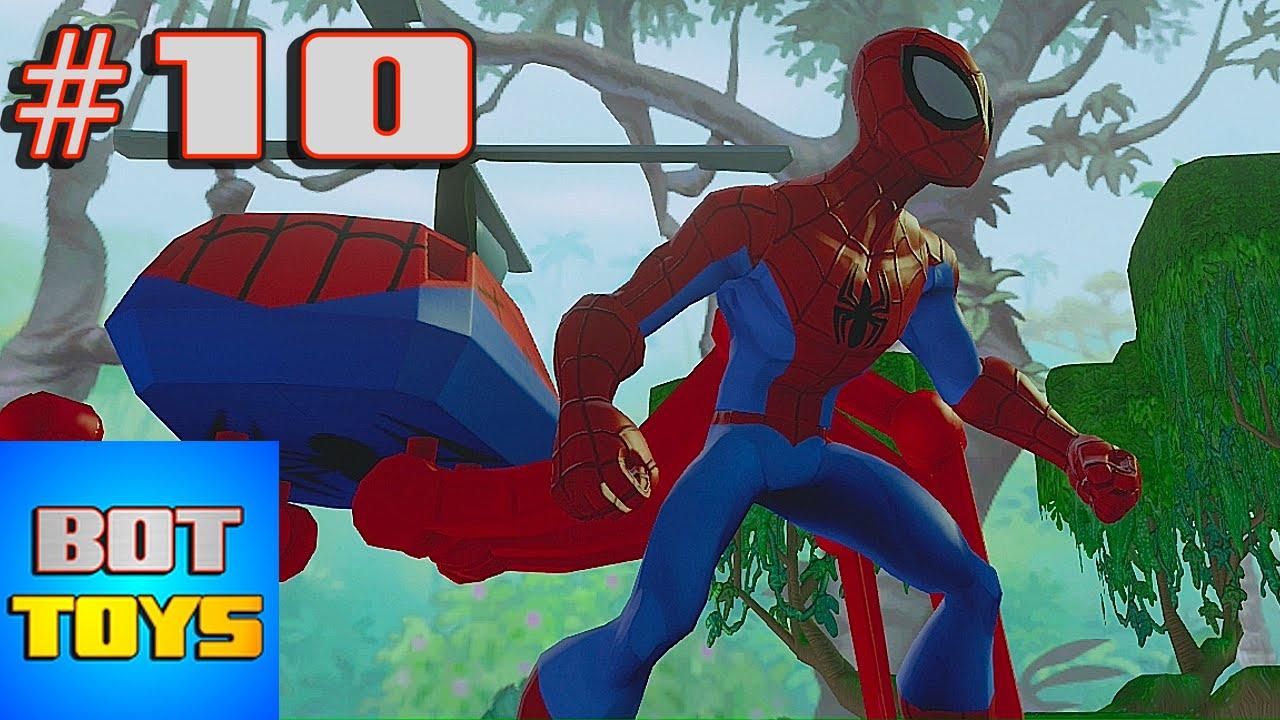 El Hombre Araa en Espaol 10 Spiderman El Heroe de Dibujos