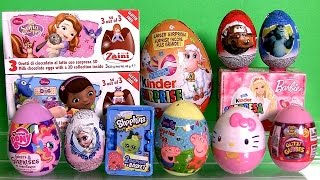 Kinder Barbie Huevos Sorpresa with Disney Egg Surprise