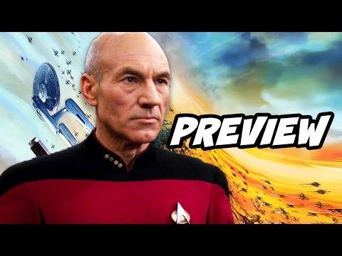 Star Trek Captain Picard TV Show Preview Explained by Patrick Stewart