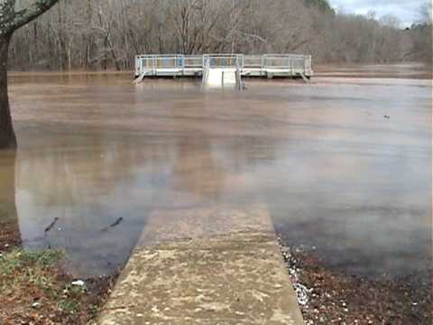 Childersburg, Alabama: Coosa River Flooding 3/11/10