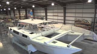 Ariki 48 Sailing Catamaran Build Update | 16 December 2013
