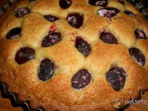 быстрый пирог со сливой рецепт с фото