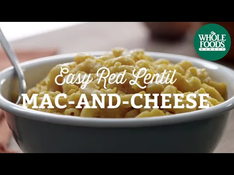 Easy Red Lentil Mac-and-Cheese | Freshly Made l Whole Foods Market