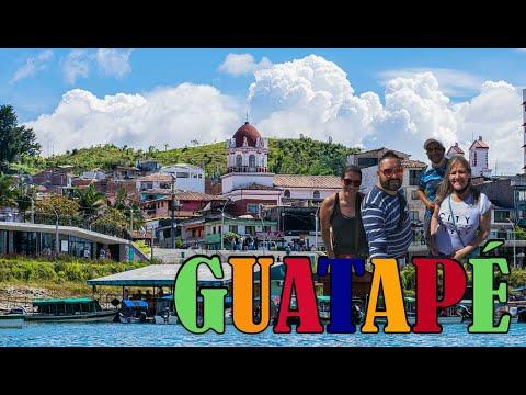 La [PIEDRA del PEÑOL⛪] y GUATAPÉ el PUEBLO MÁS🌈COLORIDO de ANTIOQUIA - COLOMBIA