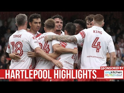 HD HIGHLIGHTS |  Stevenage 6-1 Hartlepool | League Two 2016/2017