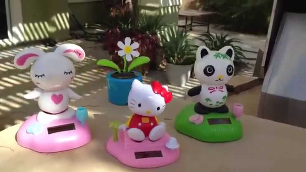 Uncategorized Dancing Hello Kitty solar dancing bunny panda hello kitty youtube kitty
