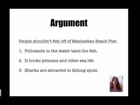Introduction of an Argument Essay