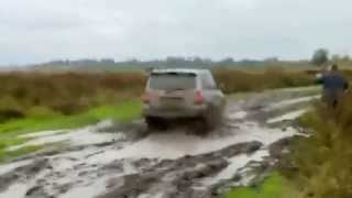Hyundai Terracan and Toyota Landcruser Prado lite off road