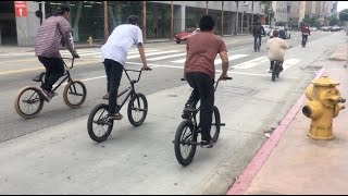 ➡️BMX STREET: Peepgame Street Ride LA + Long Beach w/ Ed Zunda (RAW/Webisode)