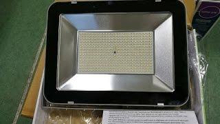Прожектор светодиодный 150 вт, мощный прожектор, уличный светодиодный прожектор IP65(Прожектор светодиодный 150 вт, мощный прожектор, уличный светодиодный прожектор IP65 . Интернет-магазин 18 Ватт..., 2017-01-25T22:29:02.000Z)