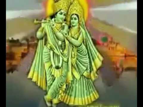 VAISHNAVA JANA TO - LORD KRISHNA PLAYING FLUTE FOR RADHARANI