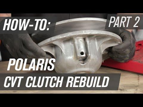How To Rebuild A Polaris UTV CVT Clutch | Secondary Clutch