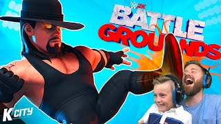WWE 2K Battlegrounds is AMAZING! FIRST LOOK!!! K-CITY GAMING