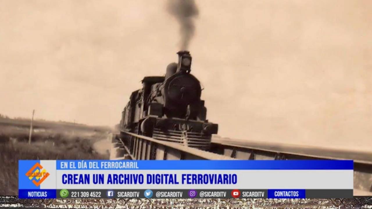 En el día del Ferrocarril: crean un archivo digital del tren en la zona