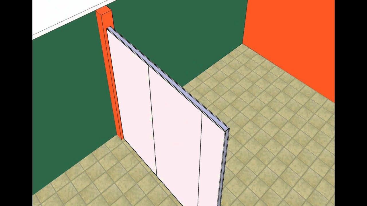 Muro con aislamiento t rmico y ac stico yesopanel youtube - Tipos de muros ...